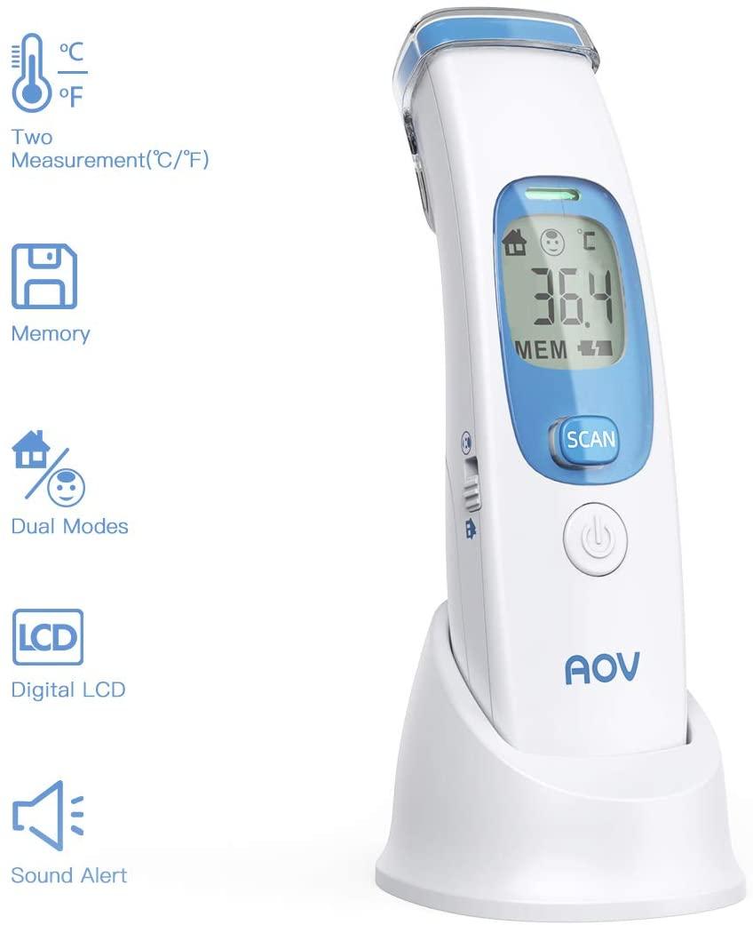 Termómetro AOV infrarrojo