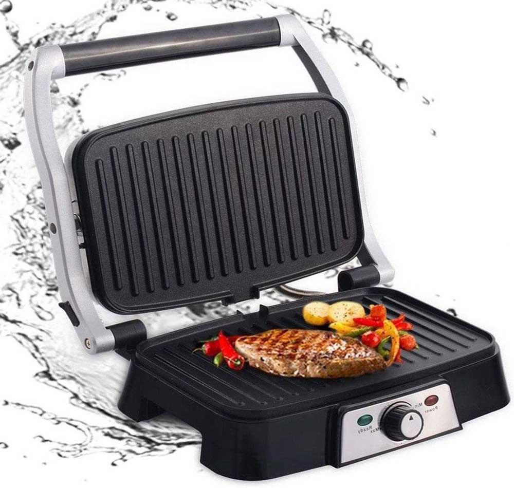 Sandwichera con grill Aigostar Hitte 30HFA