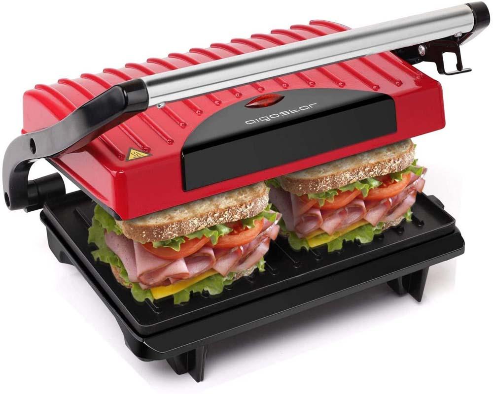 Sandwichera con grill Aigostar Warme 30HHH