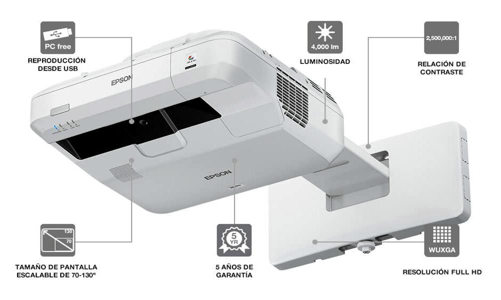 Proyector láser Epson EB-700U