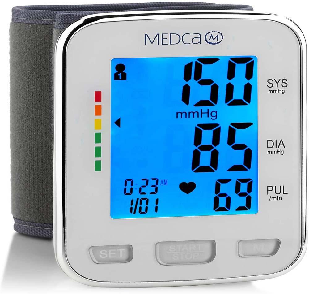 Tensiómetro de muñeca MedCa