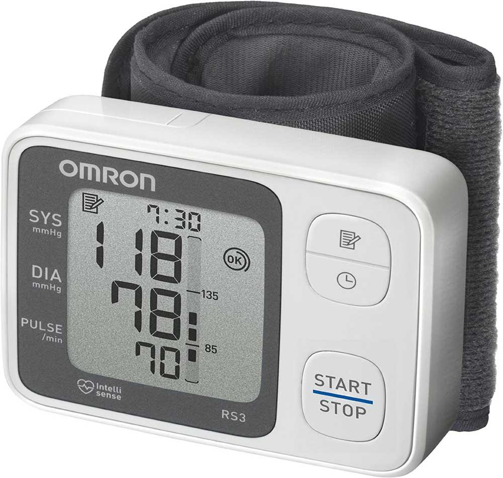 Tensiómetro de muñeca OMRON RS3 Intelli IT
