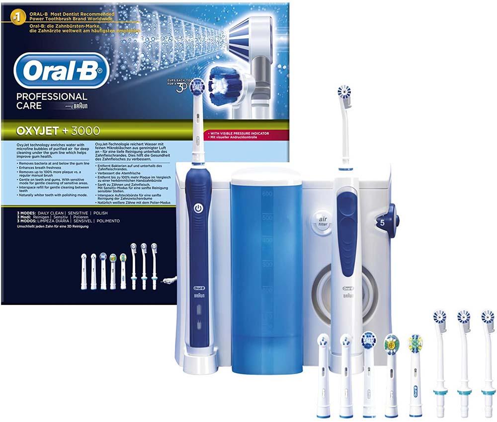 Irrigador Oral-B Professional Care OxyJet