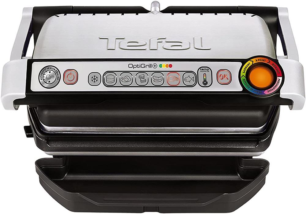 Sandwichera con grill Tefal Optigrill GC712D12