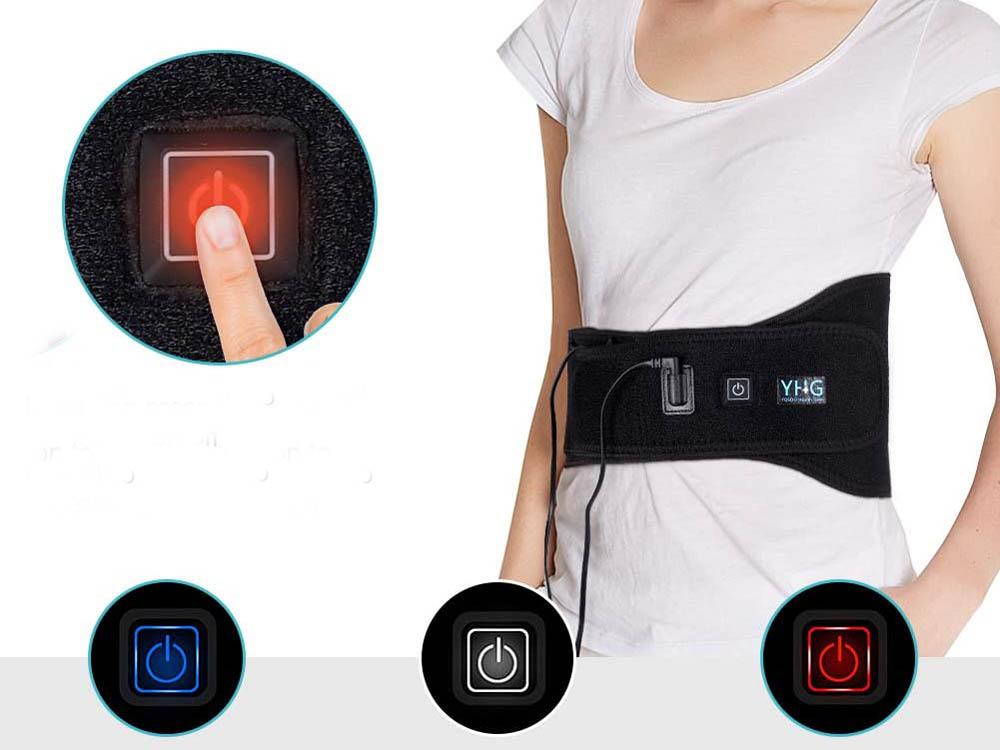 Manta eléctrica lumbar Yosoo Health Gear