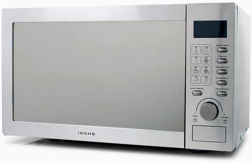 Microondas de acero inoxidable Ikohs HW800S