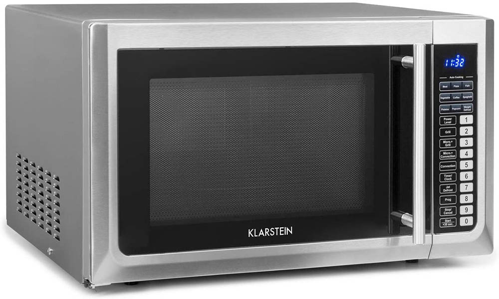 Microondas de acero inoxidable Klarstein Brilliance Pro 43